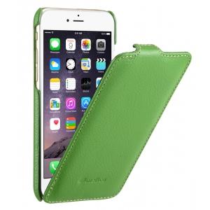 """Кожаный чехол Melkco для Apple iPhone 6/6S (4.7"""") - Jacka Type - зеленый"""