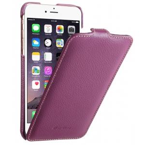 """Кожаный чехол Melkco для Apple iPhone 6/6S (4.7"""") - Jacka Type - сиреневый"""