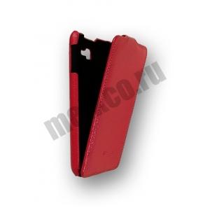 Кожаный чехол Melkco Leather Case для Samsung Galaxy Note GT-N7000 / Note LTE GT-N7005 - Jacka Type - красный