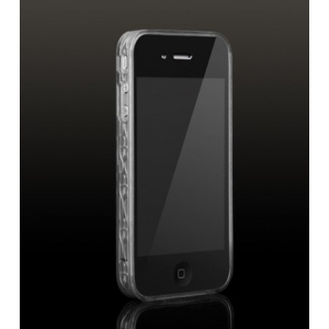 Бампер More Trinity Polymer Jelly Ring для iPhone 4 - прозрачный