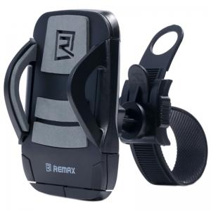 Держатель для телефона на руль велосипеда Remax RM-C08 - чёрный