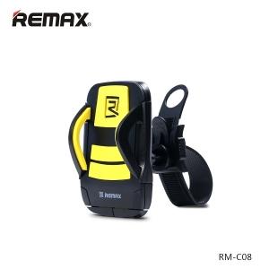 Держатель для телефона на руль велосипеда Remax RM-C08 - желтый