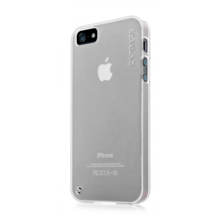 Силиконовый чехол CAPDASE Soft Jacket Xpose for Apple iPhone 5/5S / iPhone SE - белый