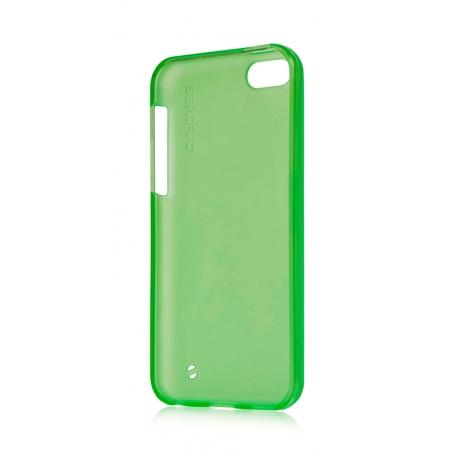 Силиконовый чехол Capdase SJ Xpose для Apple iPhone 5C - зеленый