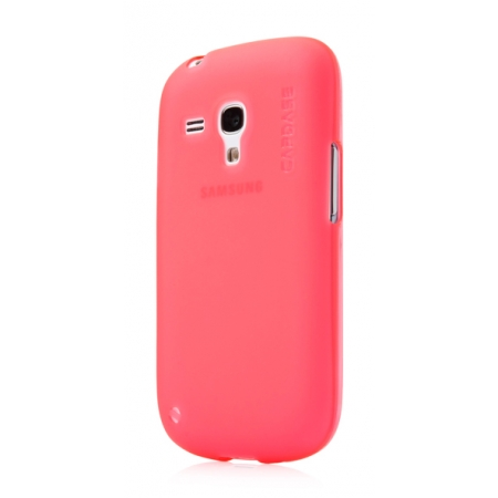 Силиконовый чехол CAPDASE Soft Jacket Xpose for Samsung Galaxy S3 Mini GT-I8190 - красный