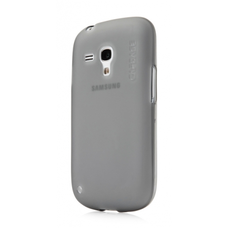 Силиконовый чехол CAPDASE Soft Jacket Xpose for Samsung Galaxy S3 Mini GT-I8190 - серый