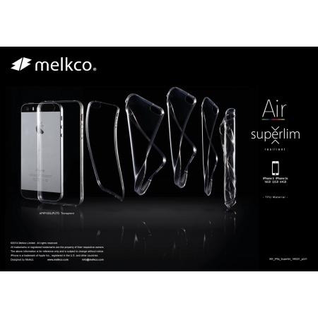 Силиконовый чехол Melkco Air Superlim TPU Cases для Apple iPhone 5/5S / iPhone SE - прозрачный