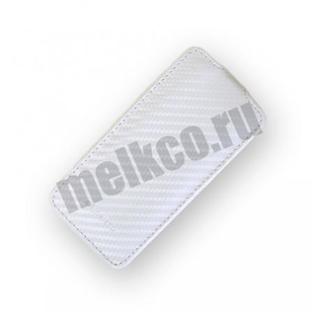 Чехол Melkco для Apple iPhone 3GS/3G - Jacka Type - белый карбон