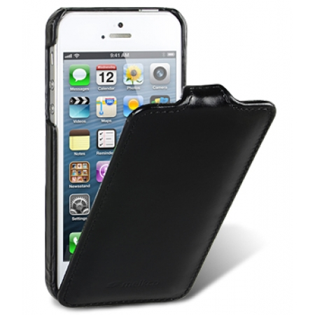 Кожаный чехол Melkco для Apple iPhone 5/5S / iPhone SE - Jacka Type Vintage - чёрный