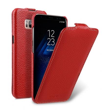 Кожаный чехол Melkco для Samsung Galaxy S8 - Jacka Type - красный