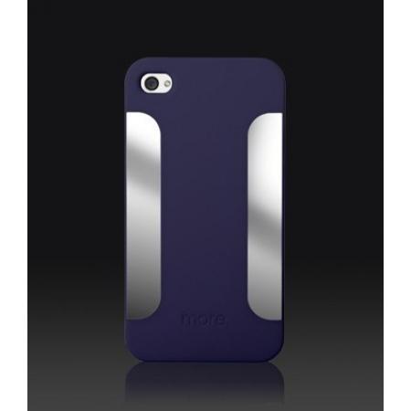 Пластиковый чехол More Para Blaze Collection для iPhone 4/4S - синий