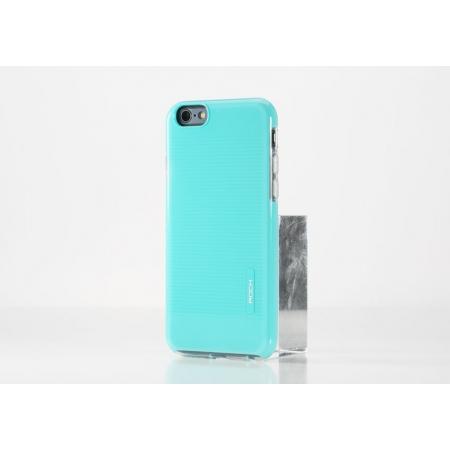 """Силиконовый чехол Rock Jello Series для Apple iPhone 6/6S (4.7"""") - голубой"""
