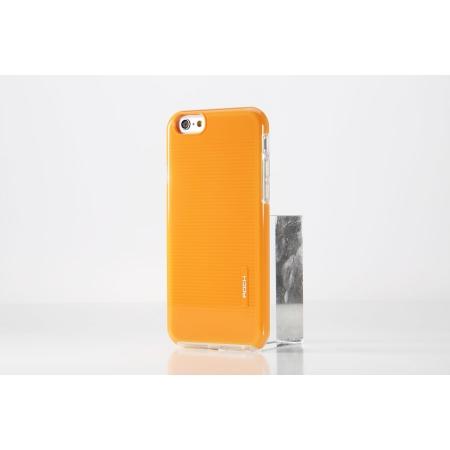 """Силиконовый чехол Rock Jello Series для Apple iPhone 6/6S (4.7"""") - оранжевый"""